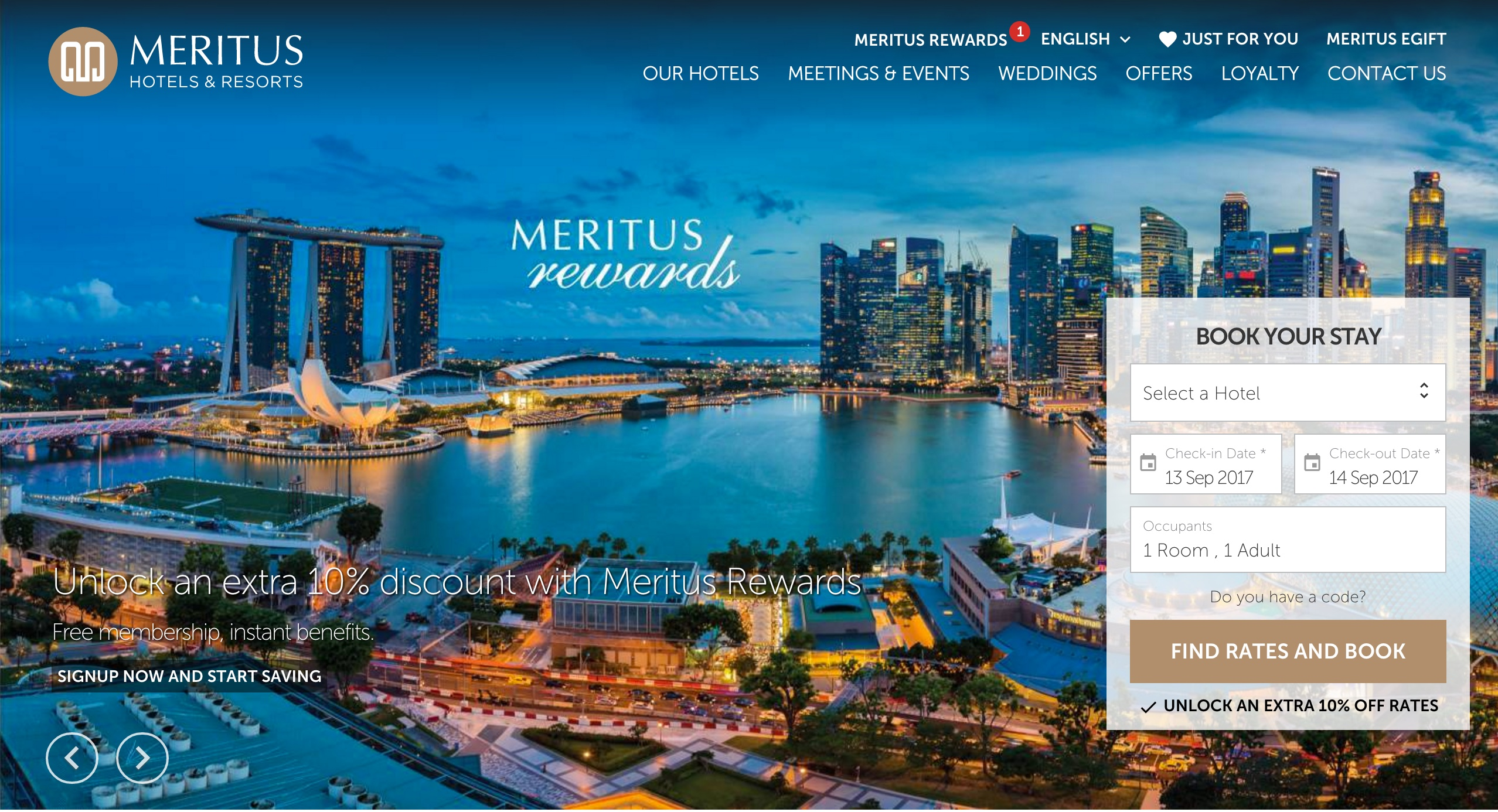Meritus Hotels & Resorts